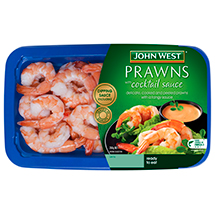 Prawns with Cocktail Sauce 260g