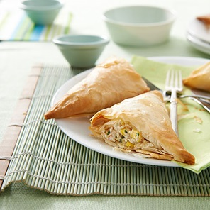 Corn  Tuna Parcels
