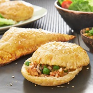 Fish  Rice Pastry Triangles