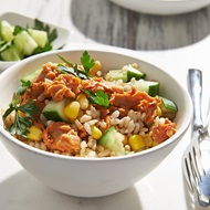 Hot Chilli Tuna Rice Salad