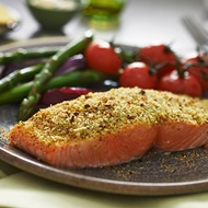 Lemon And Herb Crusted Salmon
