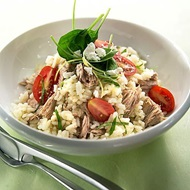 Lemon Tuna Risotto