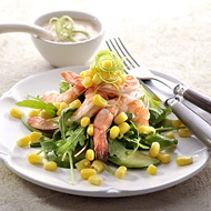 Prawn Avocado Summer Salad