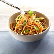 Spaghetti With Smoked Mussels