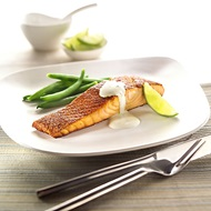 Spicy Tasmanian Atlantic Salmon With Lime Mayonnaise