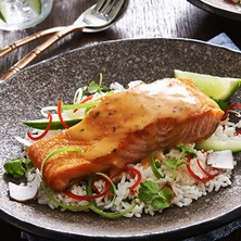 Thai Style Trout With Coconut Rice