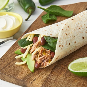 Tuna And Bean Burritos